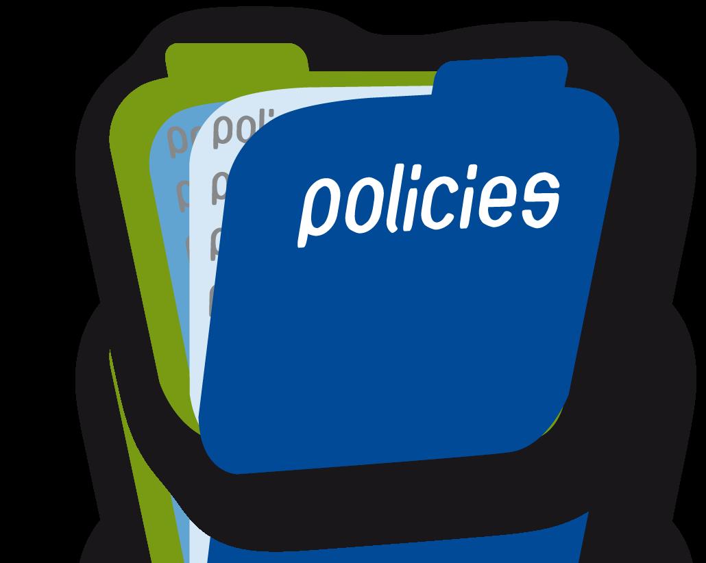 Actualiza web, politicas escritas