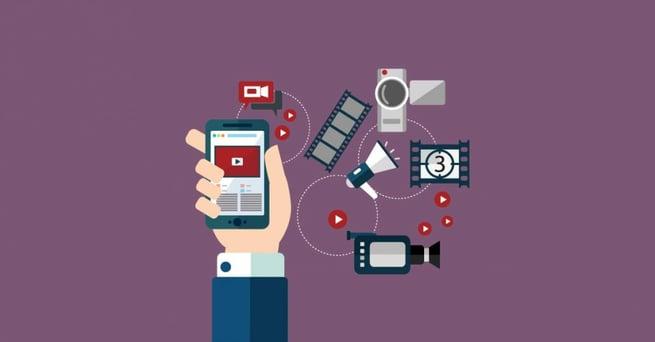 Actualiza Web, contenido de video