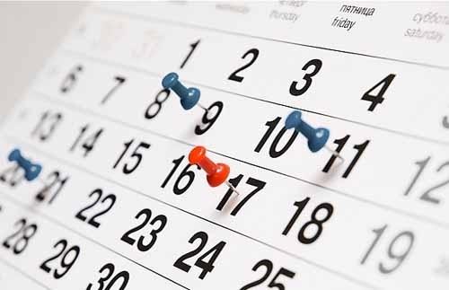 Actualiza Web, calendario para tus campañas promocionales